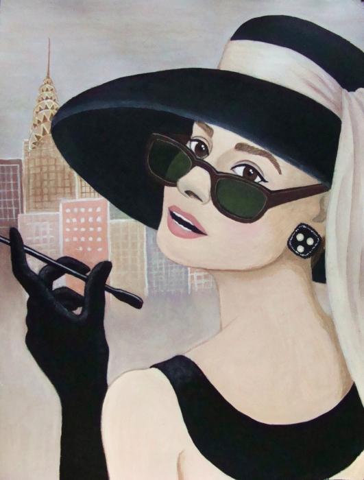 Audrey Hepburn par Nihale